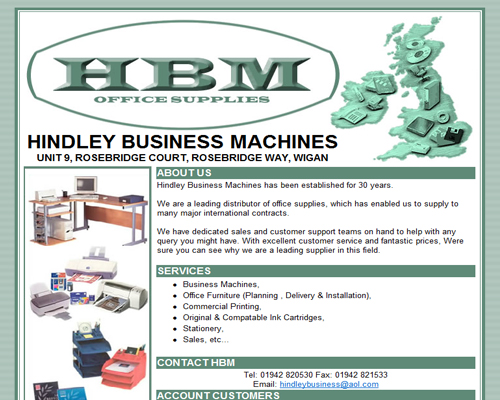 HBM Office Supplies
